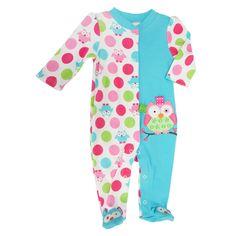 TAGGIES™ Infant Girl Owl Sleep and Play #VonMaur