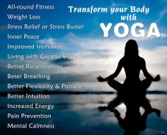 How Yoga can help you Transform your Body #Yoga