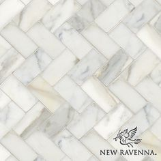 "Herringbone 3"" x 6"" | New Ravenna Mosaics"