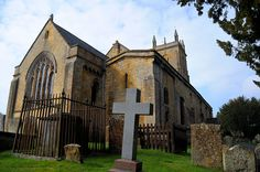 12 April 2009.  Blockley Parish Church of St. Petr and St. Paul. [on wikimedia commons from flickr by Pauk]