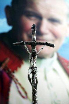 Imitation Of Christ Catholic Prayers, Catholic Saints, Roman Catholic, Papa Francisco, Pape Jeans, Juan Pablo Ll, Pope John Paul Ii, Paul 2, Catholic Pictures