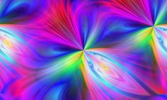 Rainbow Abstract – Wednesday's Unusual Daily Jigsaw Puzzle #jigsawpuzzle