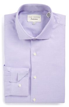 Ted Baker London 'Golgol' Trim Fit Dress Shirt available at #Nordstrom
