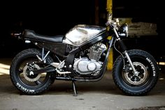 See several of my most desired builds - specialty scrambler motorcycles like Suzuki Cafe Racer, Gs 500 Cafe Racer, Cafe Racer Build, Cafe Racers, Ducati Scrambler, Scrambler Motorcycle, Custom Motorcycles, Custom Bikes, Bobber
