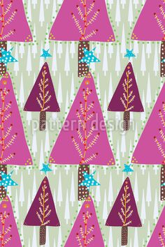 Sweet Christmas Forest http://www.patterndesigns.com/en/design/7575/Sweet-Christmas-Forest