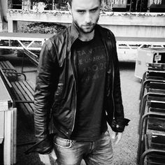 Why stop at singing, dancing, acting, modeling & hosting?? If you can design as well... Måns Zelmerlöws collection of leather jackets for Jofama will be available in stores from August 2016. Since he has the slickest of jackets I really can't wait to get a MZW original of my own.  Very god idea!! (note: every produced jacket supports Zelmerlöw & Björkman foundation) #manszelmerlow #månszelmerlöw  #mumsmans #mumsmåns #sellmorelove