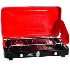 FLI Sporting Goods - TEXSPORT CO. Compact Propane Stove 2 Burners, $54.65 (http://www.flisportinggoods.com/texsport-co-compact-propane-stove-2-burners/)