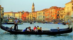 If I am ever in Italy, I will definitely visit Venice and ride some of those cool looking boats. Who needs cars? I hear the pizzas good too.
