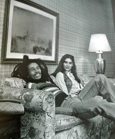 Bob Marley & Cindy Breakspeare (Miss World, 1976)