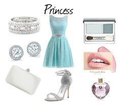 """""""Princess"""" by joanne-jkmn on Polyvore featuring Manolo Blahnik, Sole Society, Clinique and Vera Wang"""