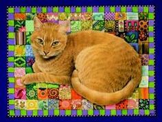 Spiro on Patchwork Squares by Lesley Anne Ivory