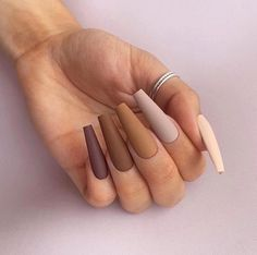 Really Cute Nails, Pretty Nails, Aycrlic Nails, Hair And Nails, Matte Acrylic Nails, Cute Acrylic Nail Designs, Fire Nails, Luxury Nails, Dream Nails