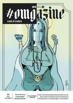Magazine cover. #graphic #omgazine #religion