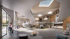 vladvernica.renderingsCULTURAL CENTRE I NETHERLANDS I 2016 Day - Hoogstad Architecten - Interior -Urban Development