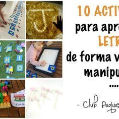 DIY Mesa de Luz: fácil, barata y ¡portátil! - Club Peques Lectores: cuentos y creatividad infantil Let It Be, Beginning Sounds, Letter Activities, Kids