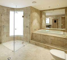 Modern luxury bathroom tile design ideas