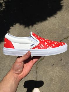 Vans X Louis Vuitton Supreme