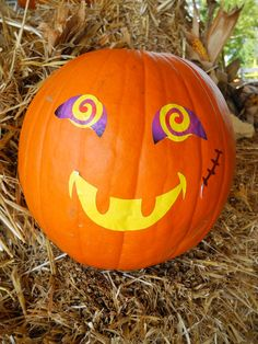 We have the happiest pumpkins in town!
