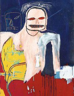"jean-michel basquiat 1983-""head and scapula"""