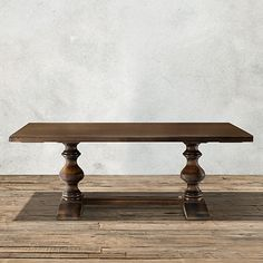 Tuscany Dining Table in Noceto | Arhaus Furniture
