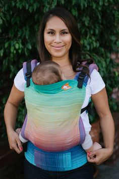Cameo Azul Pacifico II TULA BABY CARRIER *designed by Cameo@Meeyoo; woven by Girasol exclusively for Tula