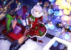 328 Best Christmas Anime Images On Pinterest In 2019 Anime Girls