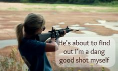 .I really was... one of my very favorite things to do as a kid... shoot guns with my dad!! :)
