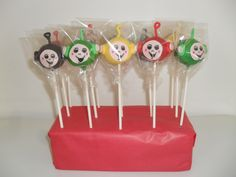Cake pops Teletubbies