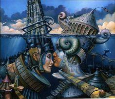 Surrealism Drawings | Surreal art by Tomek Setowksi | Pictures, art, graffiti, fun, zombies ...
