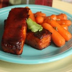 Spicy, sweet, savory and a tad bit sour - this BBQ baked tofu will convert your most staunch meat lovers.