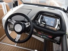The iconic Super Air Nautique got a few surf refinements for 2016 that brought it to the pro level for surfing and didn't hurt the wakeboard wakes. Ski Boats, Motor Boats, Yacht Design, Boat Design, Boat Steering Wheels, Boat Console, Boat Restoration, Boat Wraps, Boat Insurance