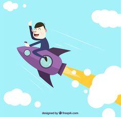Funny Startup Illustration