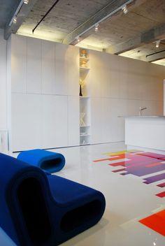 Prismatic Colours by Jean Verville Architecte