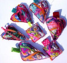 Textile Pendants | Flickr - Photo Sharing!