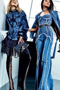 The complete Balmain Resort 2018 fashion show now on Vogue Runway. Fashion 2018, Fashion Week, Look Fashion, Runway Fashion, Fashion Models, High Fashion, Womens Fashion, Fashion Trends, Celebrities Fashion