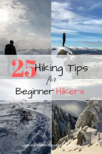 Beginner Hiking Tips