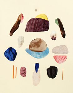 Malin Gabriella Nordin is a Swedish artist who works with the theme of rocks.