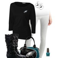 Philadelphia Eagles Leggings Outfit