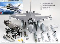 F16CJ - Packs a Punch - Scale Model.