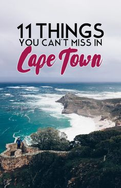 The top things to do on a first-time visit to Cape Town!