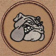 Bulldog Head Patrol Patch (#174)
