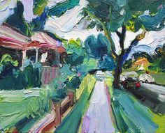 Richard Claremont #Art and #Inspiration - Gipps Road - #Landscapes #Oil #Paintings for Sale