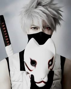 Kakashi - KumaQi - COSPLAY IS BAEEE! Tap the pin now to grab yourself some BAE Cosplay leggings and shirts! From super hero fitness leggings, super hero fitness shirts, and so much more that wil make you say YASSS! Cosplay Anime, Kawaii Cosplay, Naruto Cosplay, Cosplay Boy, Epic Cosplay, Cute Cosplay, Cosplay Makeup, Amazing Cosplay, Cosplay Outfits