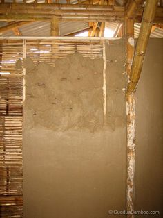 Crushed Bamboo Wall Mats
