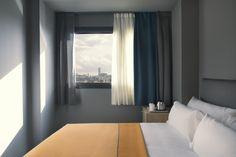 El hotel cuenta con 56 habitaciones caracterizadas por poner un especial cuidado en los detalles.