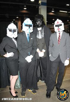 They say you can never be over dressed! Check out Wizard World Ohio Comic Con Sep 20-22, 2013!! Click http://www.wizardworld.com/home-ohio.html