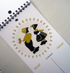 Dutch Themed Birthday Calendar by thebeautifulproject on Etsy