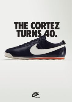 Nike Cortez. One of the best looking sneakers ever.