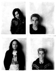 Hey! Gerard... Frank is supposed to be the short one... now buzz off and keep being the sass queen we all know u r. Thanx