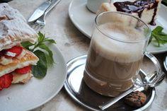 coffee of the day, #gununkahvesi from me, Nişantaşı - Den Cafe, hello weekend coffee & millefeuille ;)
